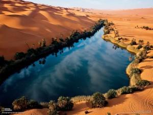 sahra-çölü-göl