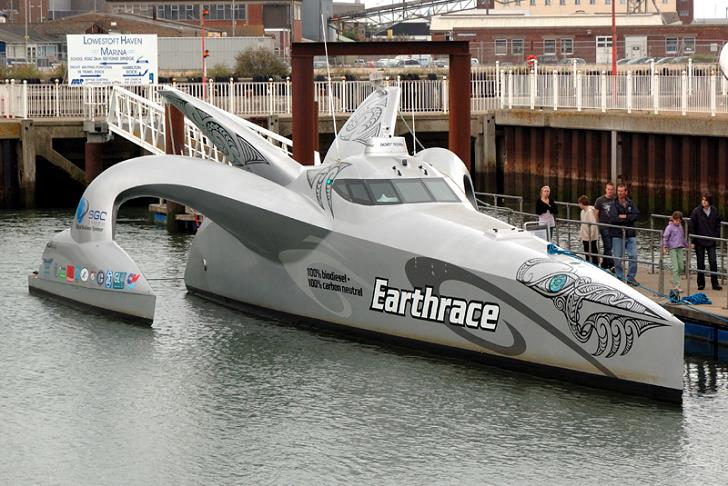 Earthrace-boat