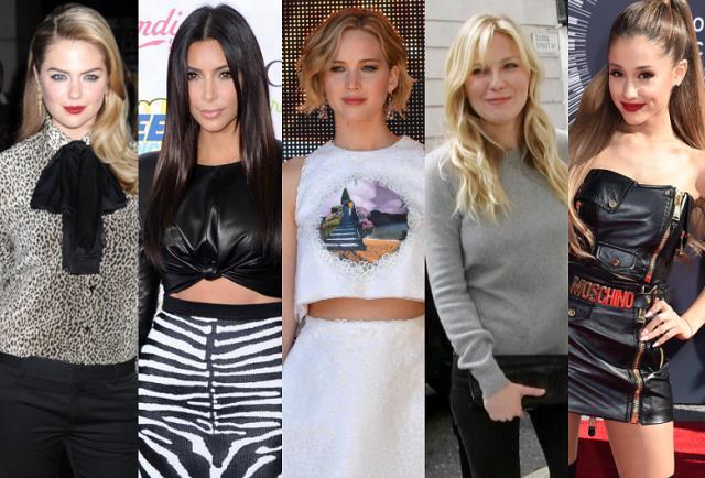 Jennifer-Lawrence-Kim-Kardashian-Kate-Upton-Ariana-Grande-Kirsten-Dunst