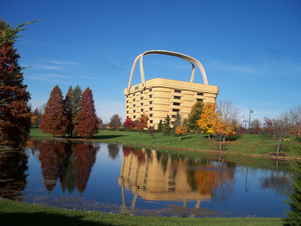 The Basket Building (Ohio, ABD)