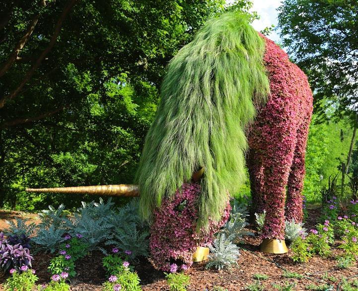 bitki-heykel-unicorn
