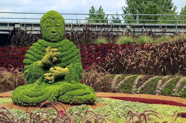 bitki-heykelleri-buddha