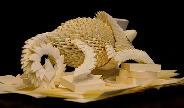 bukalemun-origami