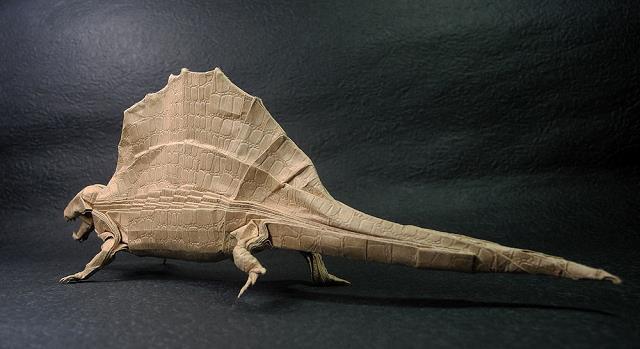 dinozor-origami