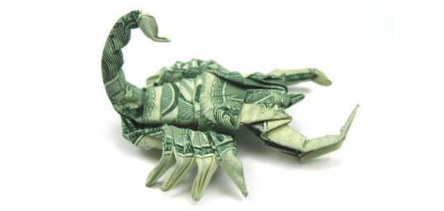 dolar-akrep-origami
