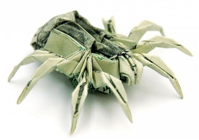 dollar_origami_orumcek