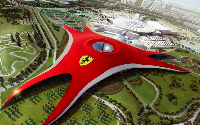 ferrari world dubai