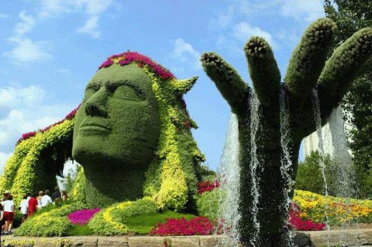 kizilderili-bitki-heykel