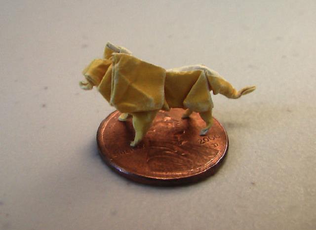 minik-ufacık-origami-aslan