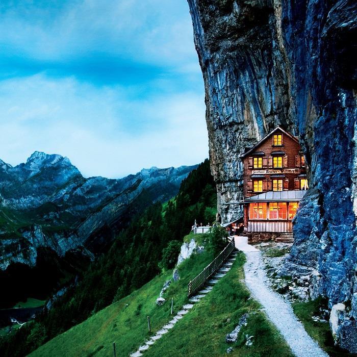 Aescher-Hotel-İsviçre