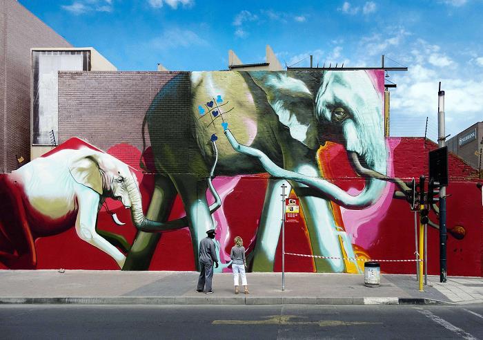 Güney-Afrika-Sokaklarına-Hükmeden-Fil-Sanatı-12
