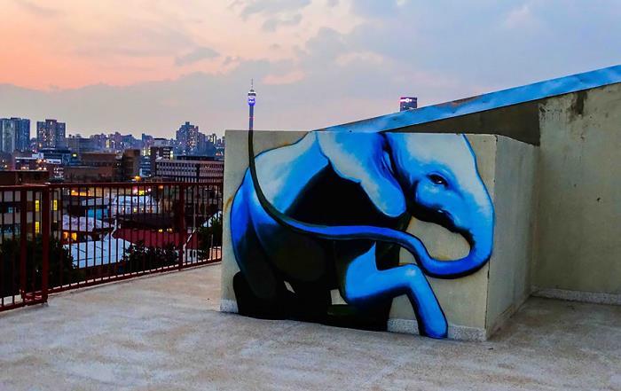 Güney-Afrika-Sokaklarına-Hükmeden-Fil-Sanatı-2