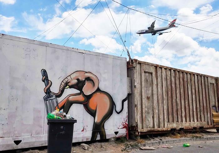Güney-Afrika-Sokaklarına-Hükmeden-Fil-Sanatı-6