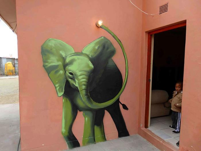 Güney-Afrika-Sokaklarına-Hükmeden-Fil-Sanatı-8