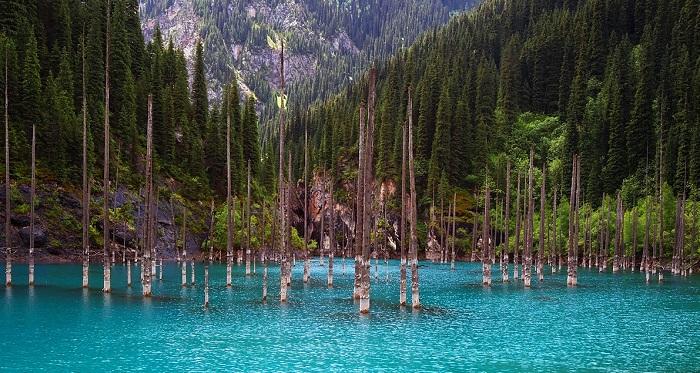 Kaindy-Gölü-Kazakistan (1)