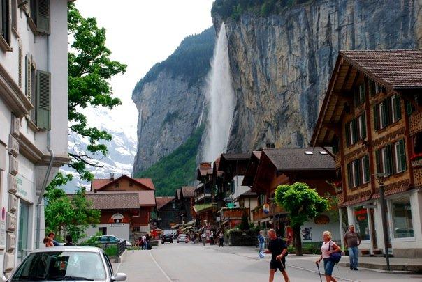 Lauterbrunnen-İsviçre