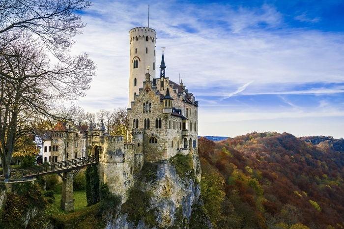 Lichtenstein-Şatosu-Almanya