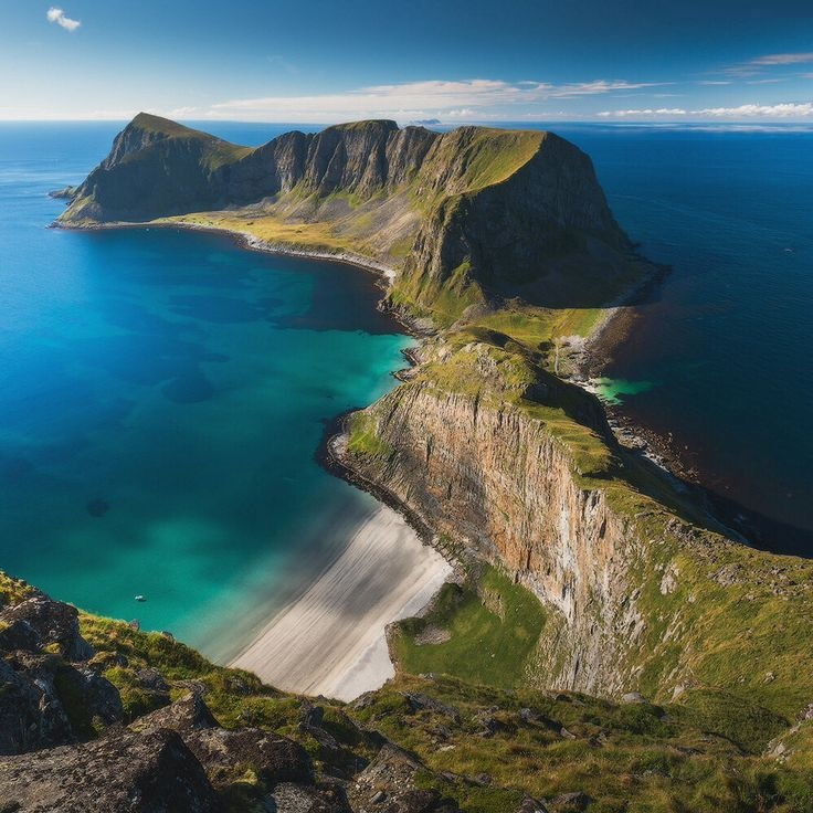Værøy-Adası-Norveç (1)