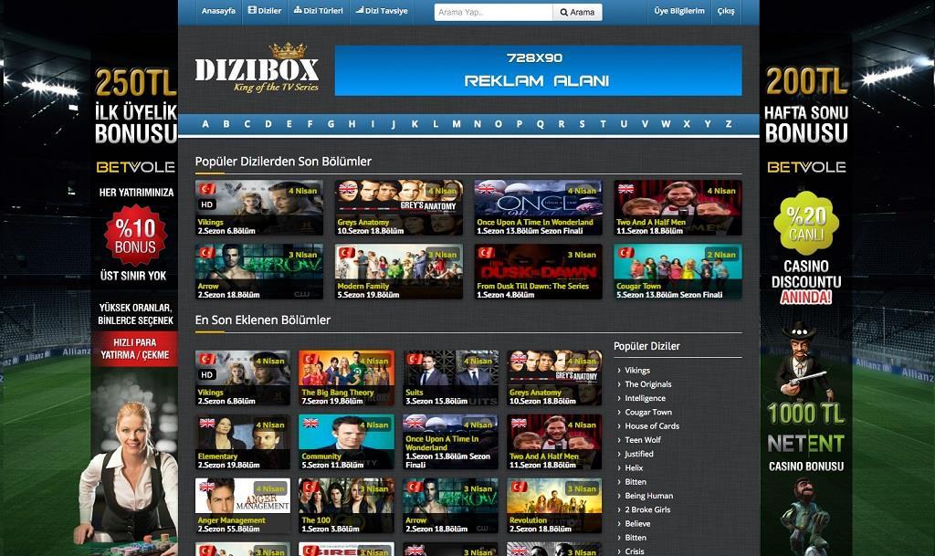 dizibox.com nasıl girilir