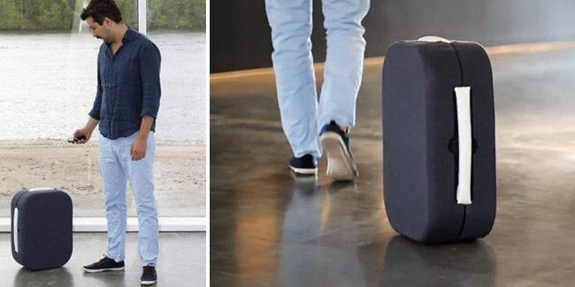 HOP robot valiz bavul
