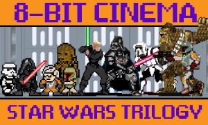 Star Wars 8 Bit Retro Versiyonu