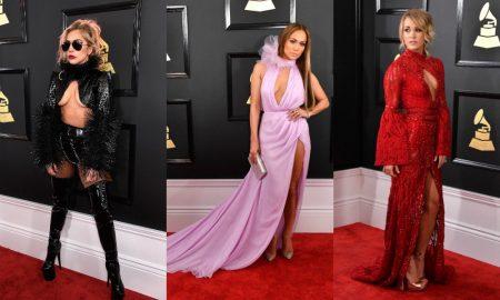 grammy ödül töreni 2017 kırmızı halı ünlüler