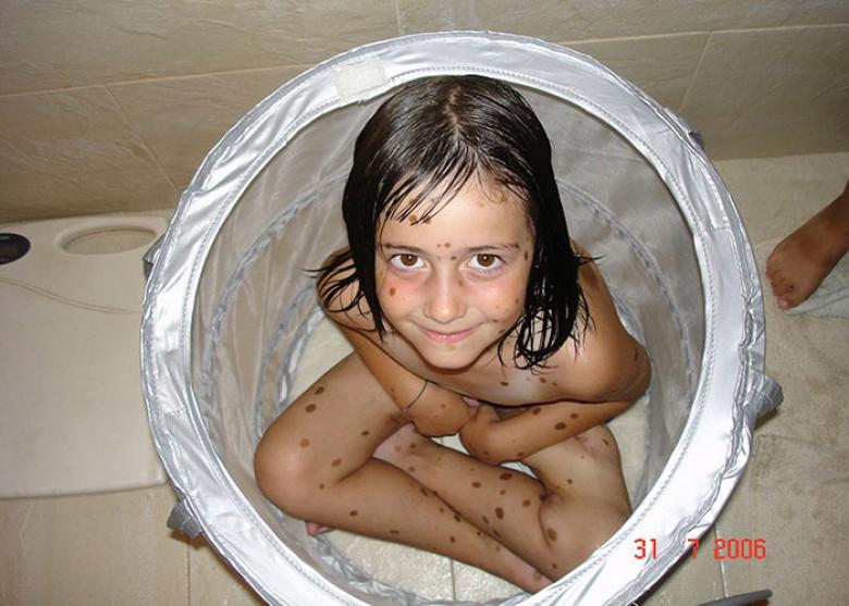 alba parejo çocukken