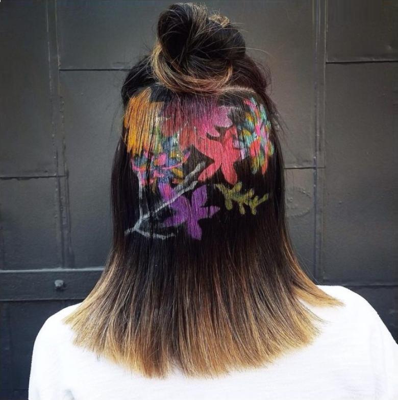 saç dövmesi desenleri