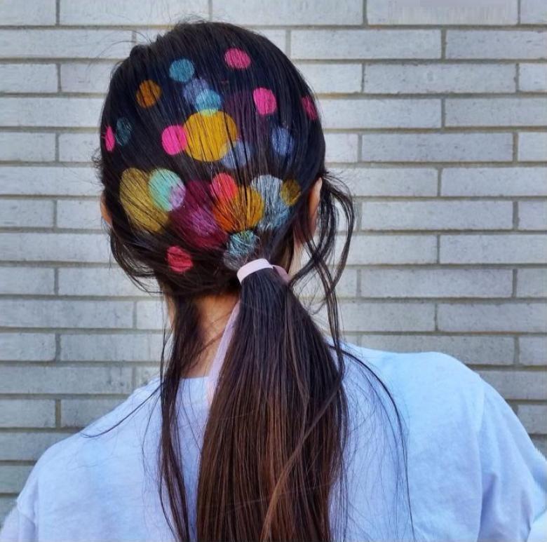 saç dövmesi