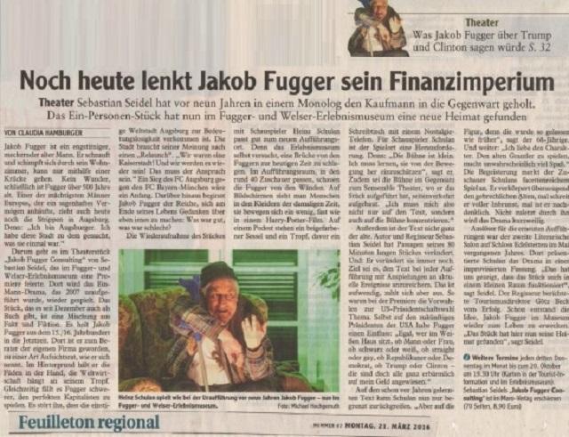 jakob fugger gazete