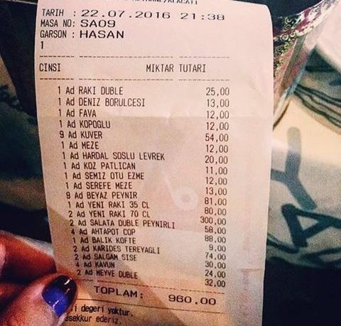 alaçatı yemekler fiyatlar
