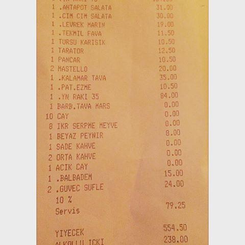 alaçatı yemek fiyatları